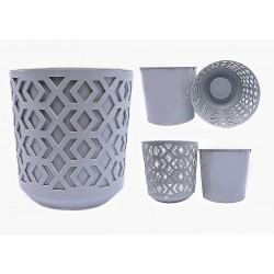 Plant Pots Aztek Grey+Grey