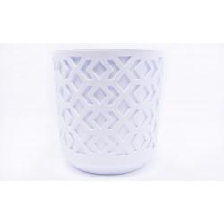 Plant Pots Aztek White+White