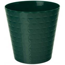 Plant Pots Diamond Green Bottle
