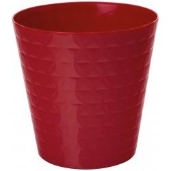 Plant Pots Diamond Red