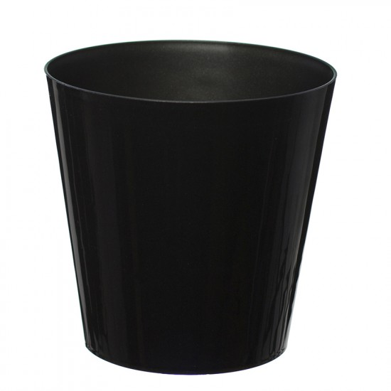 Black Aga Flower Pot