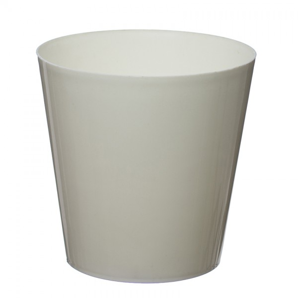 Ecru Aga Flower Pot