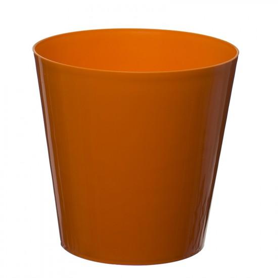 Orange Aga Flower Pot