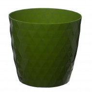 Green Crystal Flower Pot