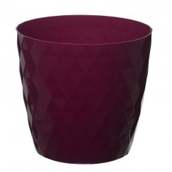 Amaranth Crystal Flower Pot