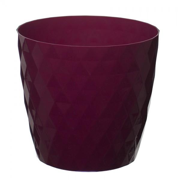 Amaranth Crystal Flower Pot