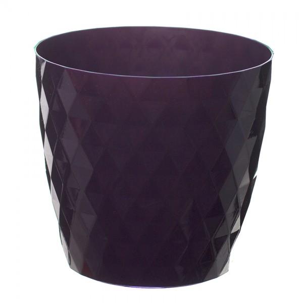 Violet Crystal Flower Pot