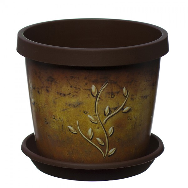 Terracotta Branch Keramo Flower Pot