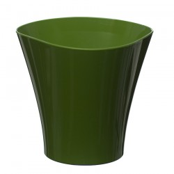 Flower Pots Wave Small -Green