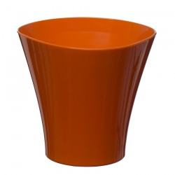 Flower Pots Wave Small -Orange