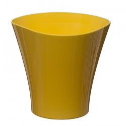 Flower Pots Wave Small -Yellow