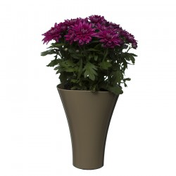 Flower Pots Wave Long-Beige