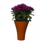Flower Pots Wave 2-Orange