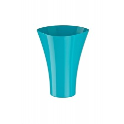 Flower Pots Wave Long-Turquoise