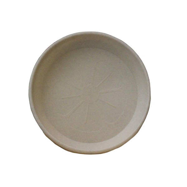 Flower Pots Saucers Beige Marble RODOS 32 cm