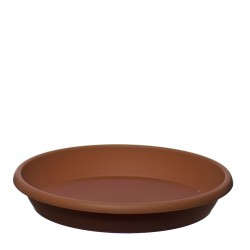 Flower Pots Saucers Light Brown RODOS