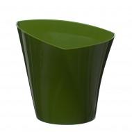 Flower Pots Twister Green