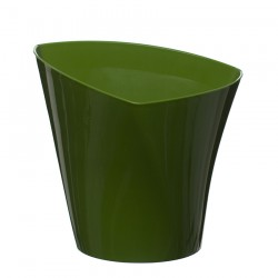 Flower Pots Twister Green