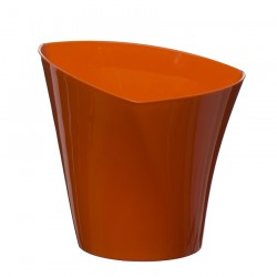 Flower Pots Twister Orange