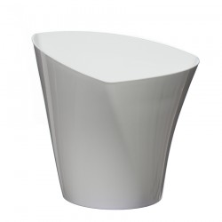 Flower Pots Twister White