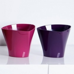Flower Pots Twister Plum