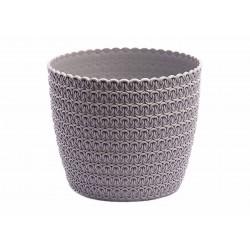 Plant Pots Jersey Grey