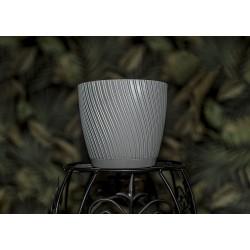 Mika Plant Pots Light Grey