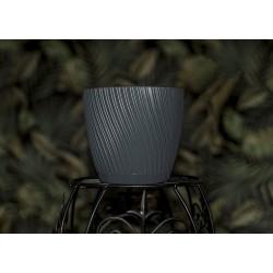 Mika Plant Pots Anthracite
