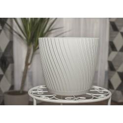 Mika Plant Pots White