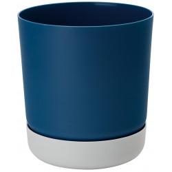 Satina Duo Navy Blue+ Grey