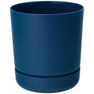 Satina Plant Pots Navy Blue