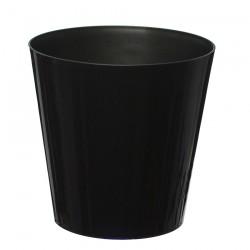 10 Pack-Black Aga Flower Pot