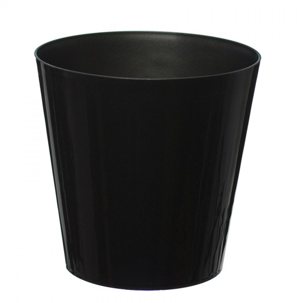 10 Pack-Black Aga Flower Pot