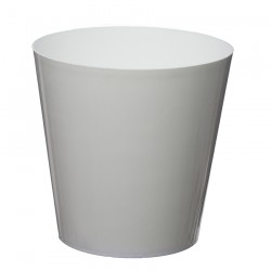 10 Pack-White Aga Flower Pot