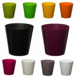 10 Pack-Yellow Aga Flower Pot