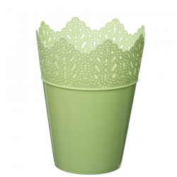 Flower Pots Crown -Green Pastel