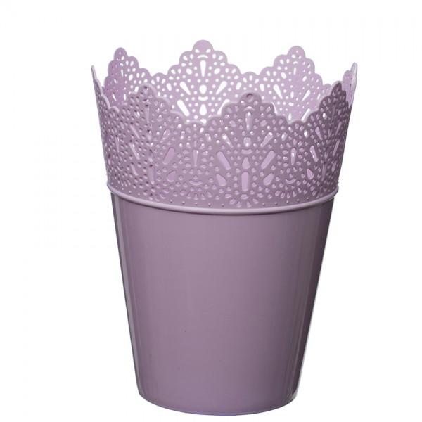 Flower Pots Crown -Pink
