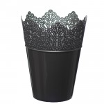 Flower Pots Crown -Silver