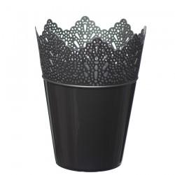 Flower Pots Crown -Silver