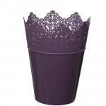 Flower Pots Crown -Violet