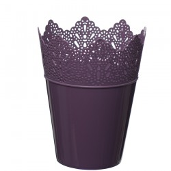 Flower Pots Crown -Violet