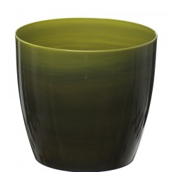 Dark Green Marble Flower Pot