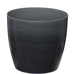 Grey Marble Flower Pot
