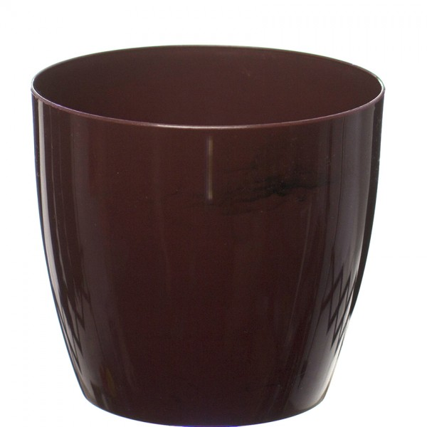 Burgundy Marble Flower Pot