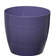 Blue Violet Marble Flower Pot