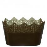 Flower Pots Oval CROWN-Gold