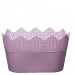 Flower Pots Oval CROWN-Pink