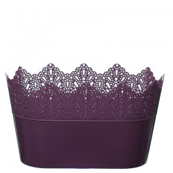 Flower Pots Oval CROWN-Violet
