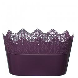 Flower Pots Oval CROWN-Violet