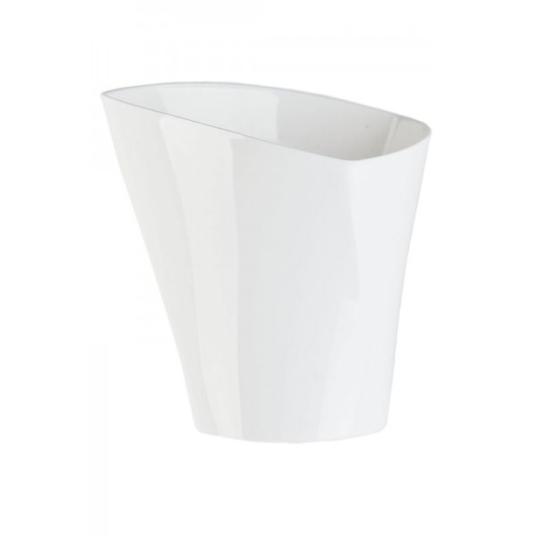 Flower Pots Twister White